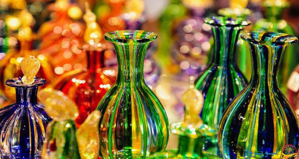 هنر ساخت اجسام شیشه ای - تور ونیز